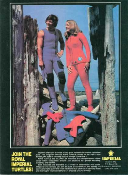 Imperial Turtleskin Scuba Diving Suit (1976)