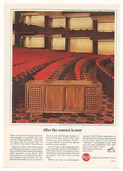 RCA Mark VII Stereo Clowes Memorial Hall (1964)