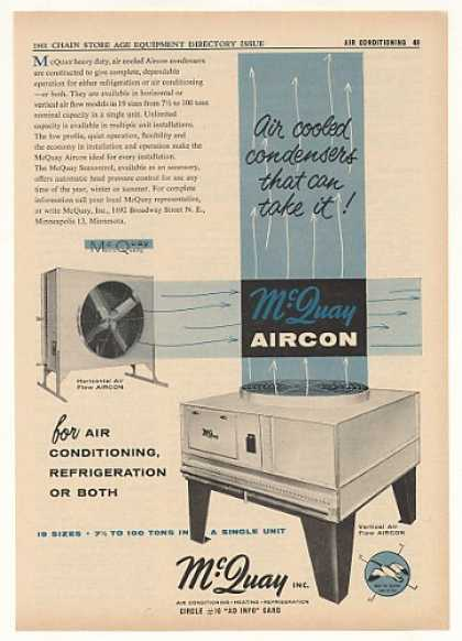 McQuay Aircon Air Conditioning Store Trade (1961)