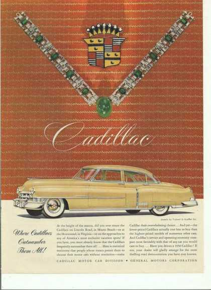 Outnumber Them All Cadillac Car (1950)