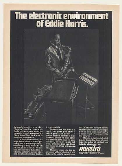 Eddie Harris Maestro Sound System Photo (1968)
