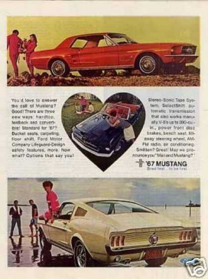 Ford Mustang Car (1967)