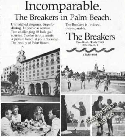 The Breakers Palm Beach Fl Photos Travel (1978)