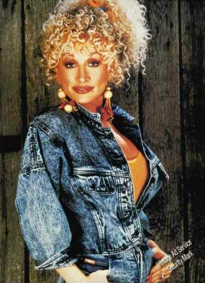 Dolly Parton Nice Magazine Print Photo (1989)