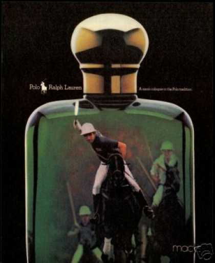 Polo Player Pony Ralph Lauren Cologne (1990)