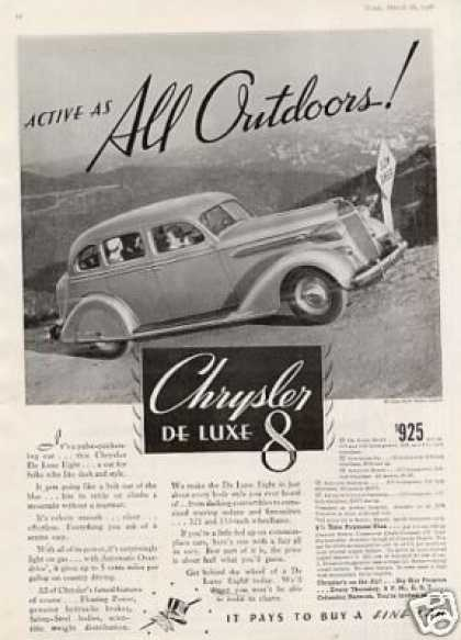 Chrysler Deluxe 8 Sedan (1936)