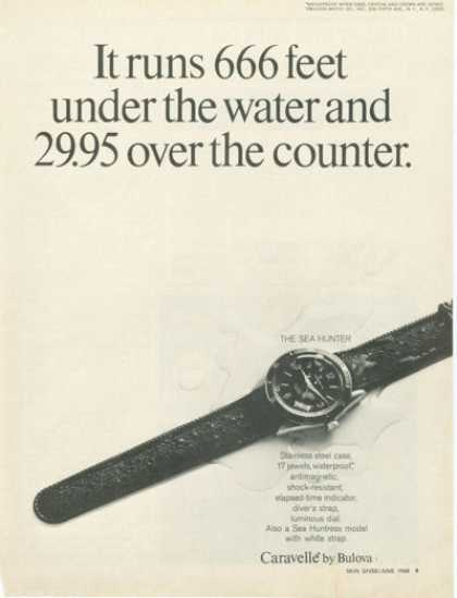 Bulova Caravelle Sea Hunter Diver Watch (1968)