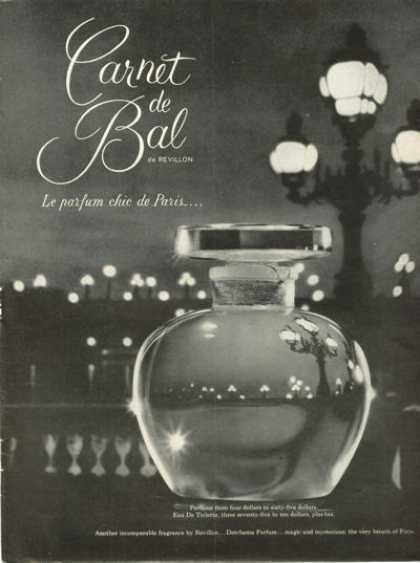 Revillon Carnet De Bal Perfume Bottle (1961)
