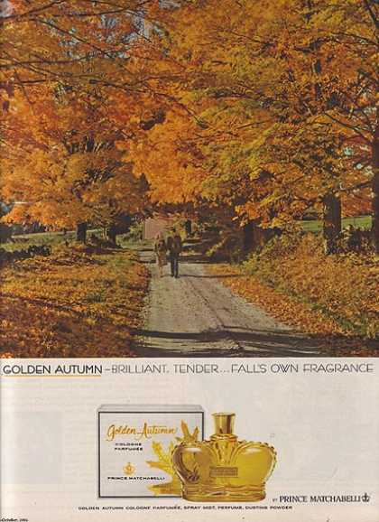 Prince Matchabelli's Golden Autumn (1964)