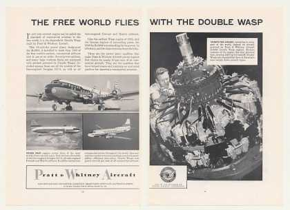 Pratt & Whitney Aircraft Double Wasp Engine 2-P (1955)