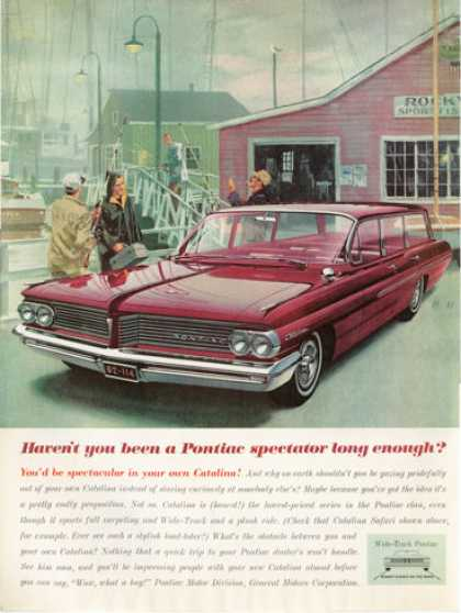 Pontiac Catalina Station Wagon Fishing Dock (1962)