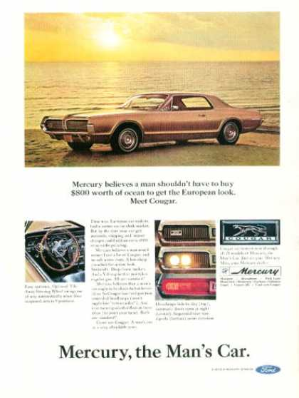 Ford Mercury Cougar (1967)