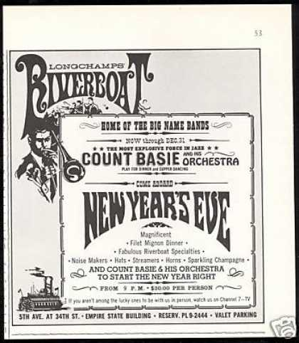 Longchamps Riverboat Count Basie New Years (1967)