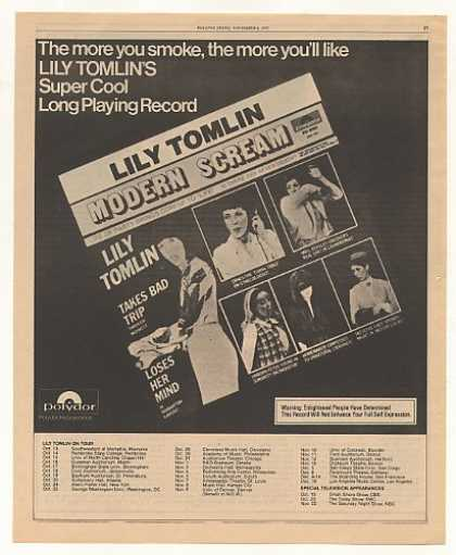 Lily Tomlin Modern Scream Polydor Records (1975)