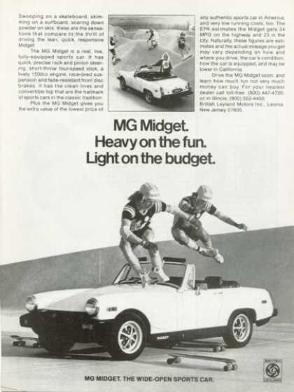 Mg Midget Skateboard (1978)
