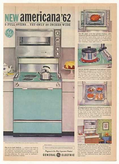 GE General Electric Americana 2 Oven Range J790 (1962)