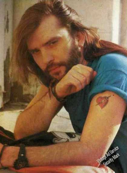 Steve Earle Magazine Photo Country Music (1989)