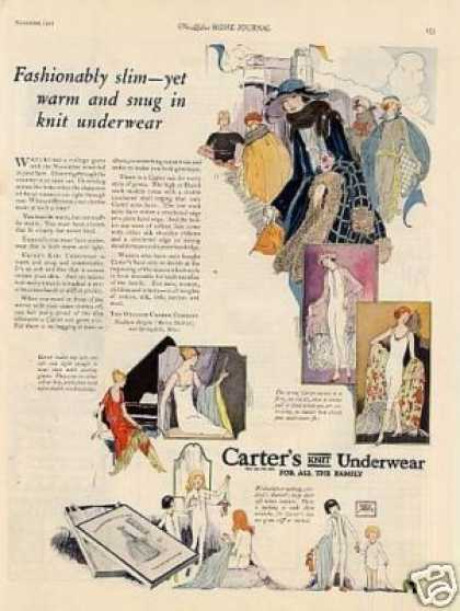 Carter's Knit Underwear Color (1921)