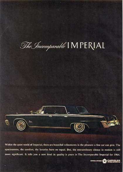 Chrysler's Imperial (1963)