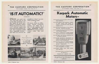 Karpark Automatic Parking Meter (1940)