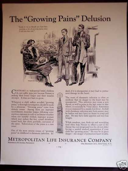Metropolitan Life Insurance Childrens Health (1934)