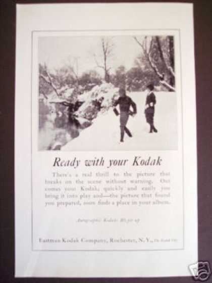 Original Kodak Autographic Camera Photography (1925)