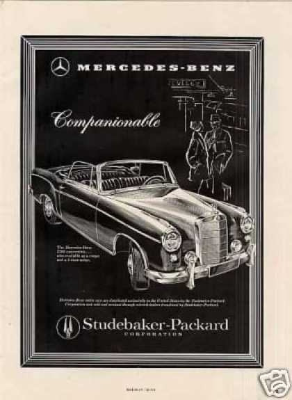 Mercedes-benz 220s Convertible (1958)
