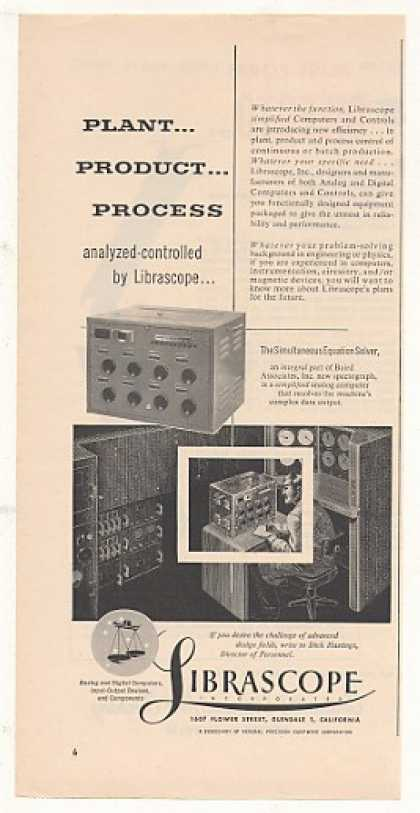Librascope Equation Solver Analog Computer (1953)