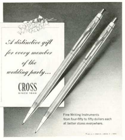 Cross Pen Pencil Set (1968)