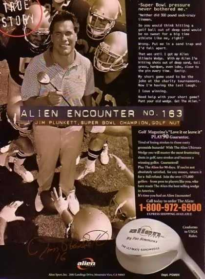 Plunkett, Jim Golf – Alien Encounter Sport Club (1999)