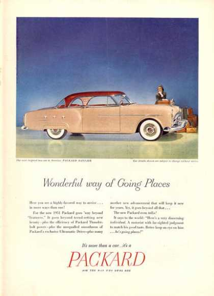 Packard Mayfair Car (1951)