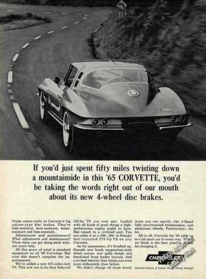 "Corvette ""Twisting Down a Mountainside"" (1965)"