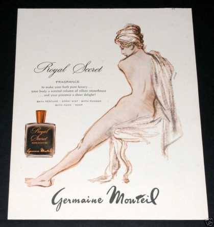 Royal Secret Perfume, G Monteil (1963)