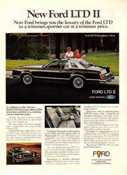 Ford Car – Ford LTD / 2 tone Black (1977)