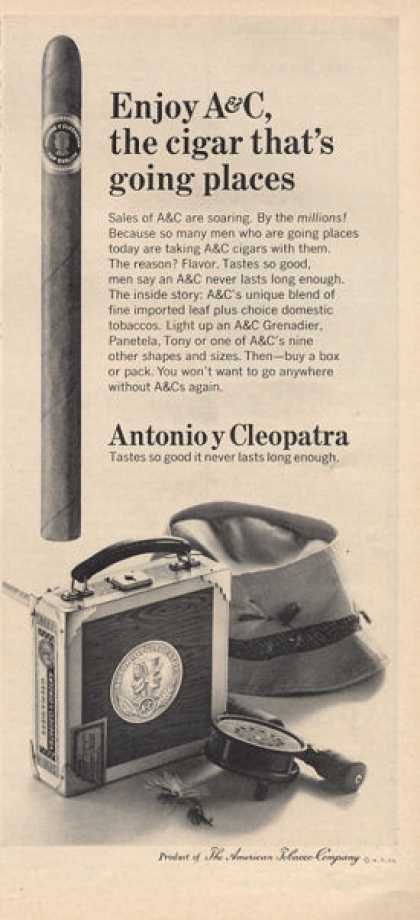 Antonio Y Cleopatra Grenadier Cigar Fly Fishing (1966)