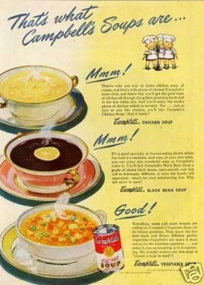 "Campbell's Soups Ad ""That's What Campbell's... (1946)"