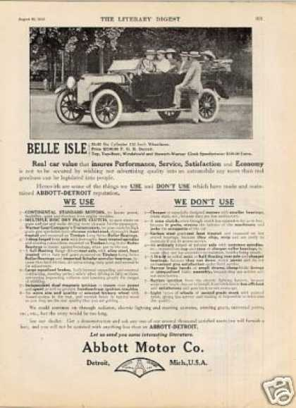 Abbott-detroit Car (1913)