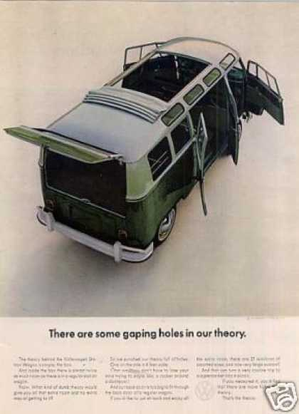"Volkswagen Station Wagon Ad ""There Are Some... (1964)"