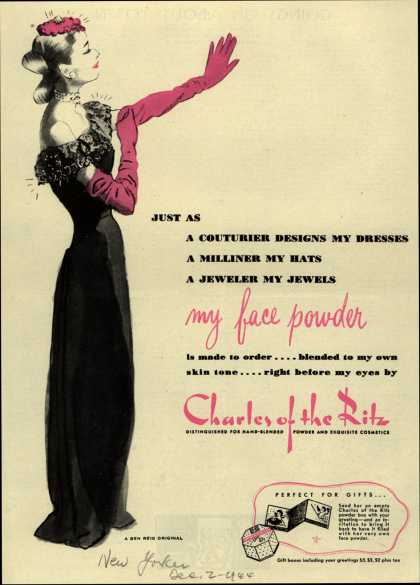 Charles of the Ritz's Cosmetics – Just As (1944)