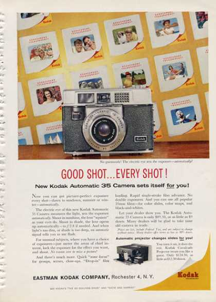 Kodak Automatic 35 Camera (1960)