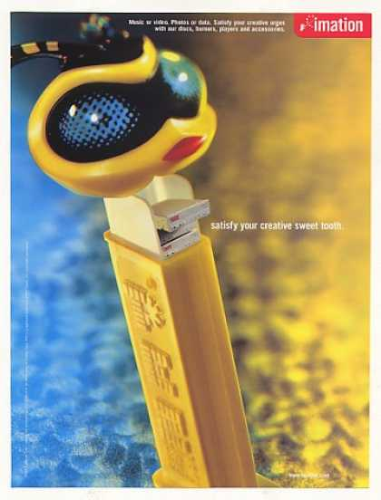 Imation CD Burners PEZ Dispenser Photo (2001)