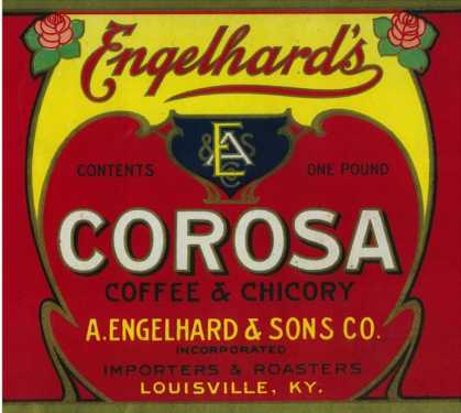 Engelhard's Coffee Label – Louisville, KY