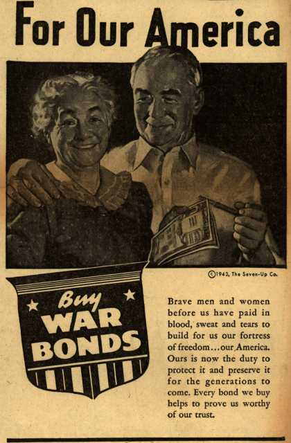 Seven-Up Co.'s War Bonds – For Our America (1943)
