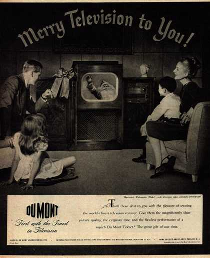 Allen B. DuMont Laboratorie's Television – Merry Television to You (1946)