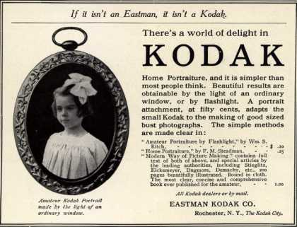 Kodak's Portrait Attachment Lens – There's a world of delight in Kodak (1906)