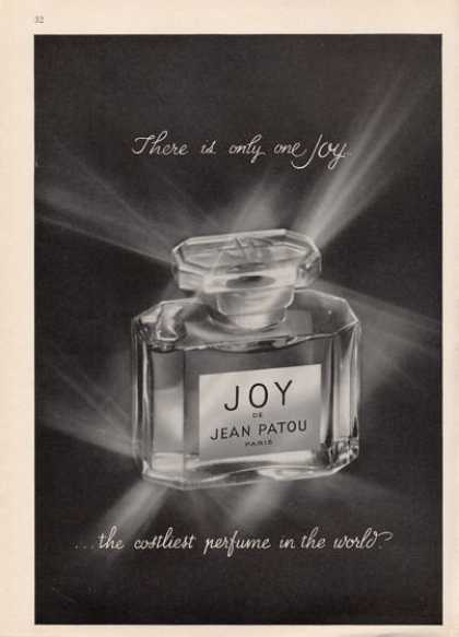Jean Patou Joy Perfume Costliest In World Photo (1964)