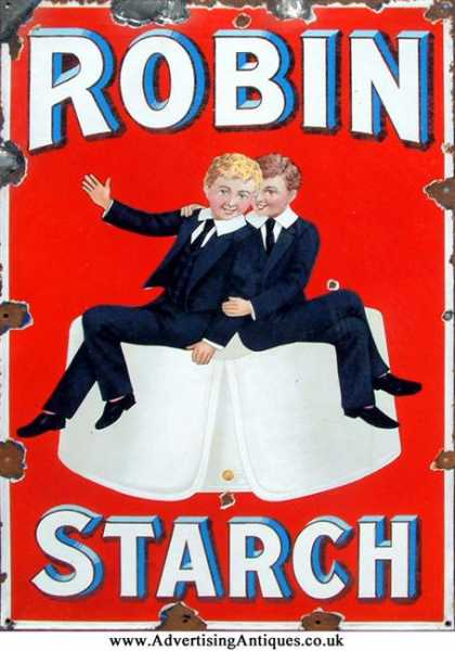 Robin Starch Boys Sign