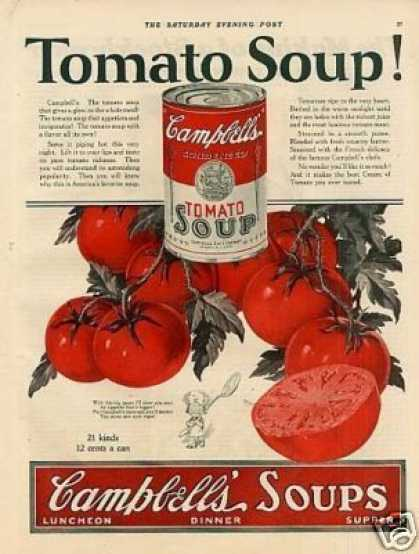 Campbell's Tomato Soup (1925)