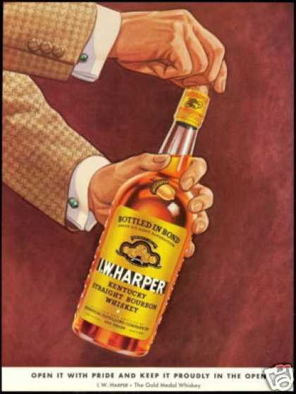 I.W. Harper Kentucky Bourbon Whiskey Vintage (1940)