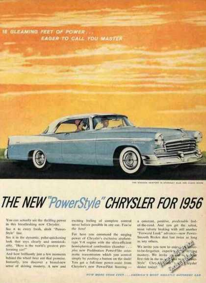 Chrysler 18 Gleaming Feet of Power (1956)